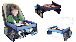 Kawachi On The Go Waterproof Kids Play N' Snack Tray