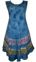 tie dye ladies dress