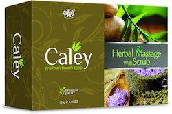 caley herbal massage scrub soap