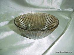 glass bowl glass cutting bowl glass pillar clear bowl
