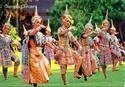 Thai Classical Dancing Skirt