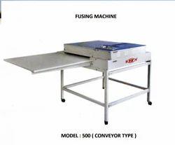 Fusing Machine Conveyor type Model  500