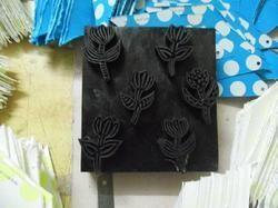 Custom Made Wooden Textile Printing Blocks