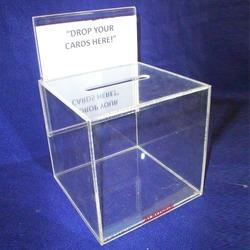 Acrylic Boxes Small Acrylic Donation Box Manufacturer