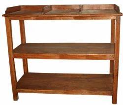 antique book rack