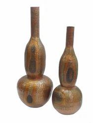 Hammered Flower Vase