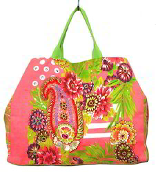 Floral Printed Shopping Bag