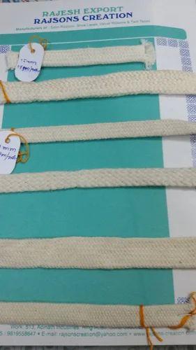 Tubular Cotton Shoe Laces