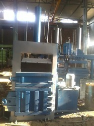 Hydraulic Baling Press For Raffia Cement Bag