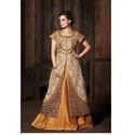 Unstitched Ladies Embroidered Anarkali Suits