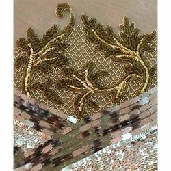 Embroidered Sequin Work