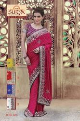Designer Party Wear Sarees 5217