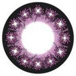 Galaxy Purple Star Color Contact Lens