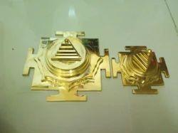 Brass Made Navdurga Meru Yantra