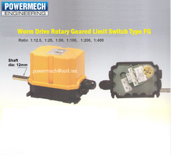Worm Drive Rotary Gear Limit Switch Type FG