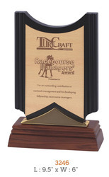 turf craft 3246 cpps wooden awards