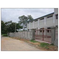 Storage build industrial shed construction in hyderabad - Readymade wall partitions ...
