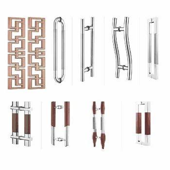 Glass Door Pull Handles - Frameless Glass Doors