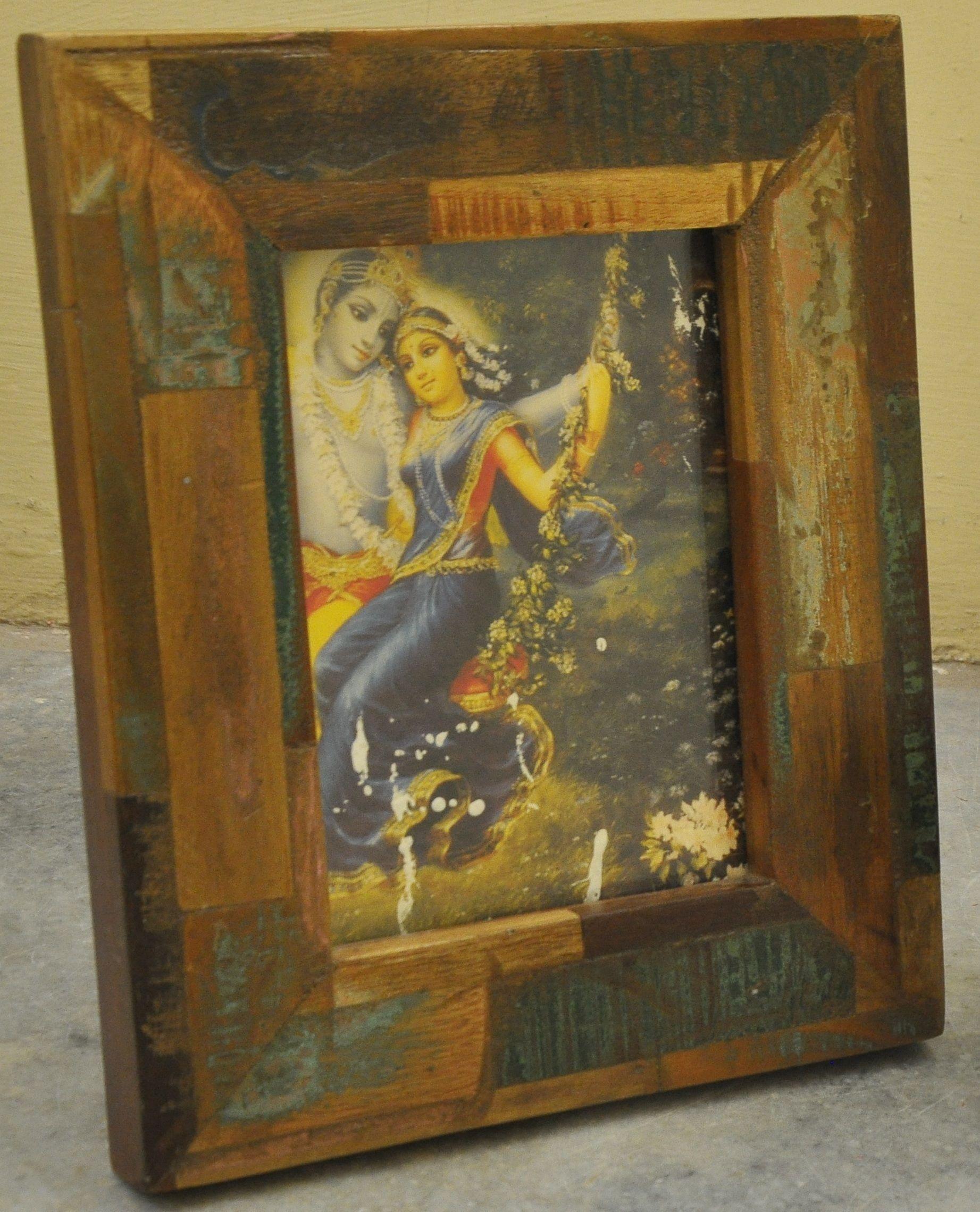 wooden photo frame natural wooden log photo frame. Black Bedroom Furniture Sets. Home Design Ideas