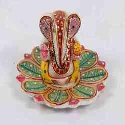 Marble Ganesh Thali