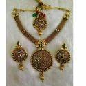 Designed Stone Necklace Set