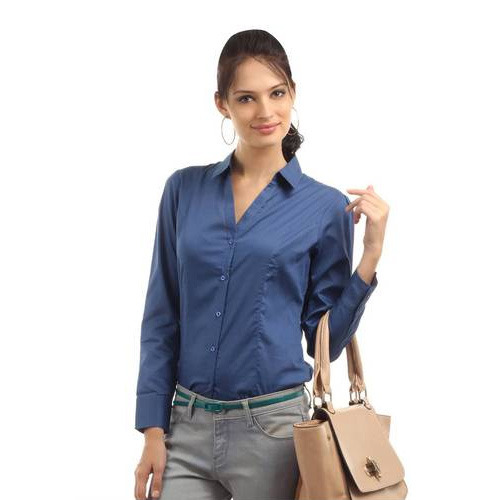 Womens Formal Wear Formal Cotton Shirts Manufacturer From Bengaluru