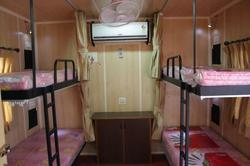 double bunk accommodation