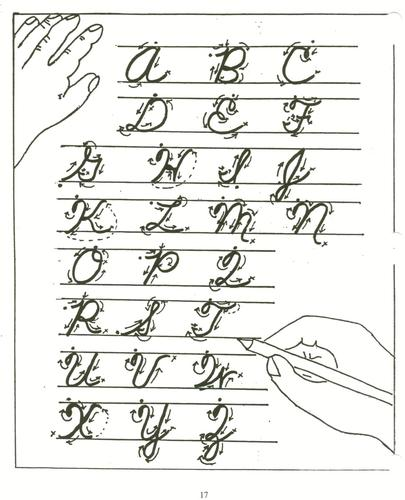 Creative handwriting