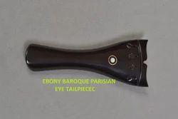 Violin Ebony Baroque Parisian Eye Tailpiece