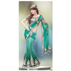 Design Butta Lehenga Saree