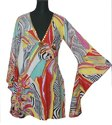 bell sleeve beachwear kaftan