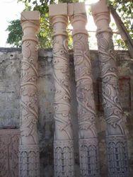 Garden Marble Pillar