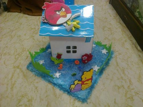 Baby Shower Motifs And Decoratives Candy House For Baby Boy
