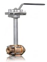 Cryogenic 3 Piece Bronze Body SS Trim Ball Valve