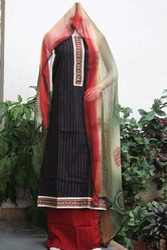 Jaipur Block Print Cotton Suit