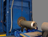 External Pipe Shot Blasting Machine