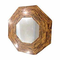Wooden Designer Marble Table