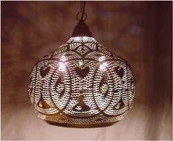 Iron Moroccane penant Lamp