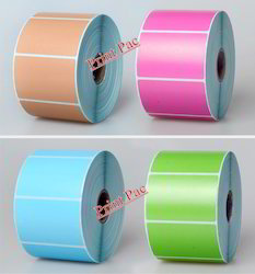 Color Coated Barcode Labels
