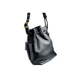Ladies Black Backpack Bag