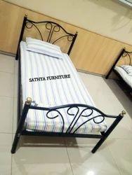 Metal Single Powder Coated Bunk Bed