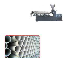 Single Screw Extruder for PVC Pipes