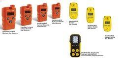 four gas detectors
