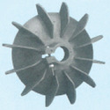 Plastic Fan Suitable For Lubi 100 Frame Size