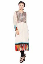 Ladies Designer Long Western Party Wear Dress Kurti