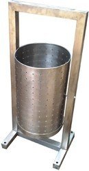 stainless steel dust bin