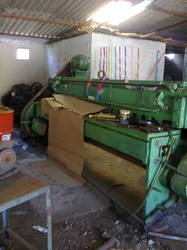Used Shearing Machine