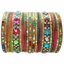 Multicolour Fancy Bangles Sets