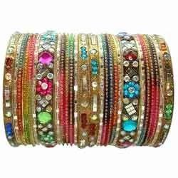 Multicolour Fancy Bangles Sets