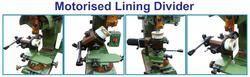 motorised lining divider